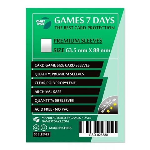 Протекторы для карт 63,5x88